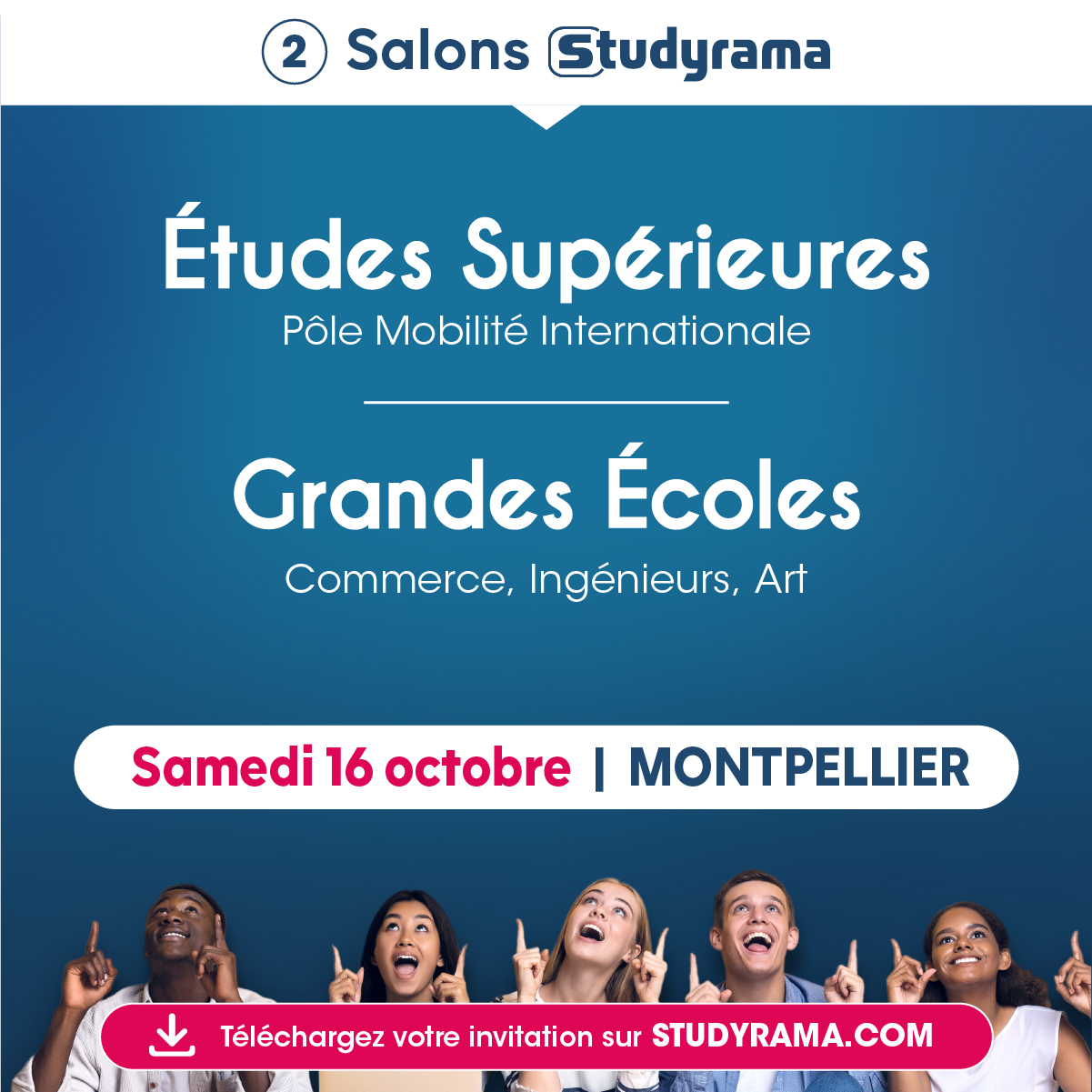 salon Studyrama Montpellier